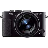 Sony Cyber-SHOT DSC-RX1 Cyber-shot Digitalkamera (24,3 Megapixel, 35mm Vollformat Exmor CMOS Sensor, 35mm Carl Zeiss Festbrennweite, 7,6 cm (3 Zoll) Display, Full HD Video) schwarz