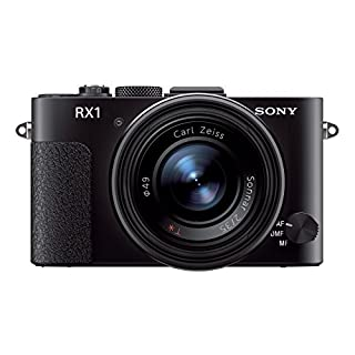 Sony Cyber-SHOT DSC-RX1 Cyber-shot Digitalkamera (24,3 Megapixel, 35mm Vollformat Exmor CMOS Sensor, 35mm Carl Zeiss Festbrennweite, 7,6 cm (3 Zoll) Display, Full HD Video) schwarz (B00A6P3IGW) | Amazon price tracker / tracking, Amazon price history charts, Amazon price watches, Amazon price drop alerts