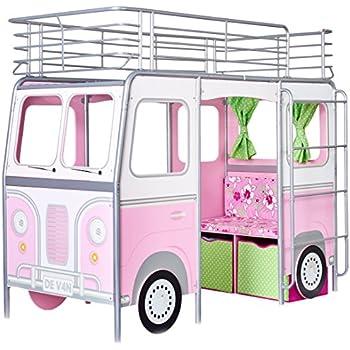 Worlds Apart 453GRL01EM  De Van-Bett im Camper-Design für Mädchen
