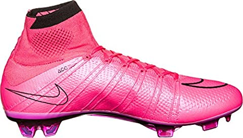 Nike Mens Mercurial Superfly FG Firm Ground Soccer Cleats Pink/Black Size 12.5