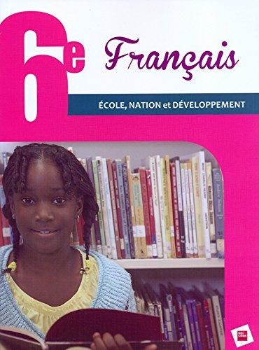 Français 6e RCI Elève Ecole, Nation et Développement