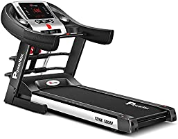 Powermax Fitness TDM-100M 2 HP (4 HP Peak) Motorized Treadmill for Home Use - Free Installation Service - 3 Years Motor...