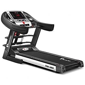 Powermax Fitness TDM-100M 1.5HP Semi-Auto Lubrication Multifunction Treadmill