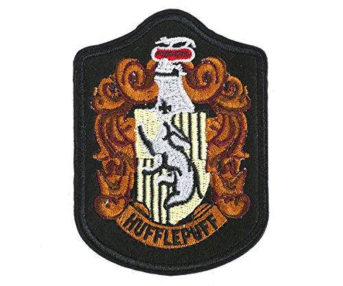 (Harry Potter gestickte Aufnäher der Häuser von Hogwarts, Version: Haus Hufflepuff)