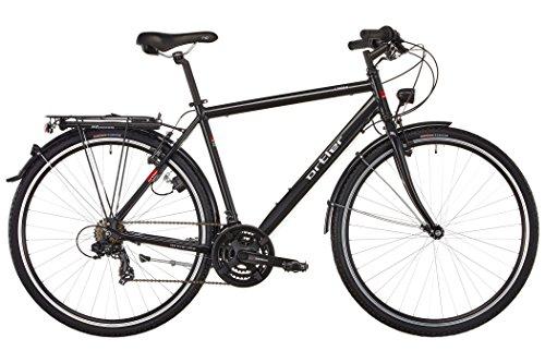 Ortler Lindau Herren schwarz glanz Rahmengröße 54 cm 2018 Trekkingrad