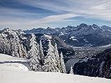 Lais Puzzle Winterlandschaft in den Bergen 1000 Teile
