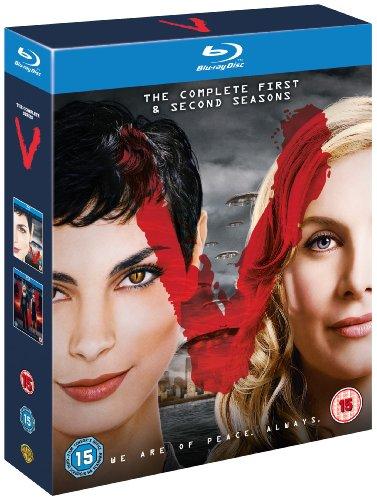 V - The Complete First & Second Seasons [Edizione: Regno Unito] [Reino Unido] [Blu-ray]