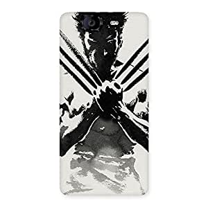 Special Ready Wolf Shade Back Case Cover for Canvas Knight A350