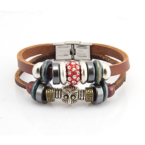 fairy-couple-vintage-cubic-zirconia-bead-hooters-leather-bracelet-l213