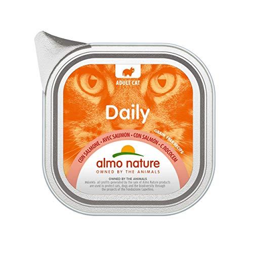 Almo Nature Daily Menu Nourriture pour Chats avec Saumon (100g)
