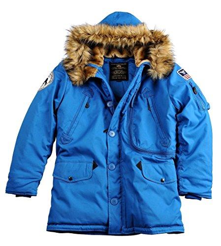 Alpha Industries Herren Parkas Polar Jacket Royal
