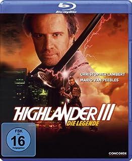 Highlander III - Die Legende / Highlander III: The Sorcerer ( ) (Blu-Ray)