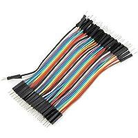 Plat Firm 40pcs 10cm macho a cable de puente Dupont macho para Arduino