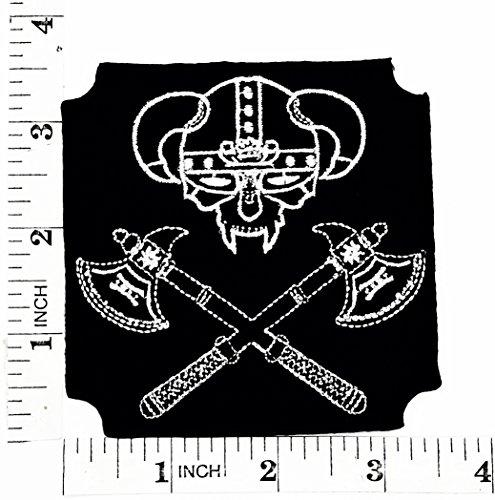 Viking Alter und Rüstkammer Biker Motorrad Patch Hand bestickt und Bügelbild Symbol Jacke T-Shirt patches aufnäher Zubehör