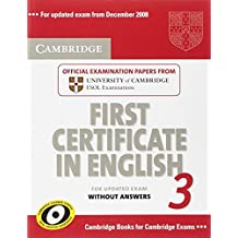Cambridge first certificate in English for updated exam. Student's book. Per le Scuole superiori: Cambridge First Certificate in English 3 for Updated ... ESOL Examinations (FCE Practice Tests)