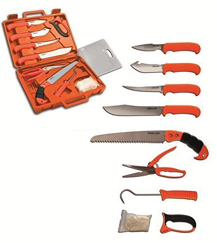 Farm-Land Hunting Kit 11-teiliges Messerset