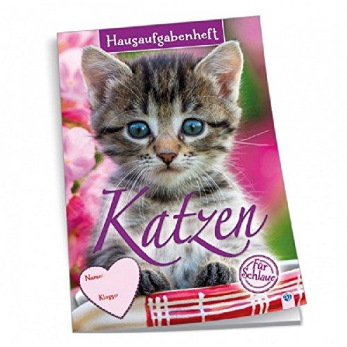 Hausaufgabenheft A5 Motiv Katzen