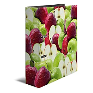 Herma Patterned Lever Arch File, Fruits Series Apple Design Apfel