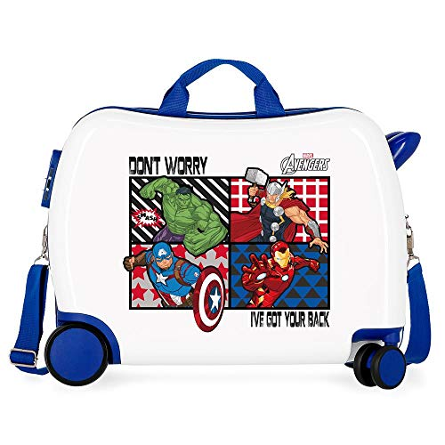 All Avengers Ride-On Suitcase 2 Multi-Direction Spinner Wheels