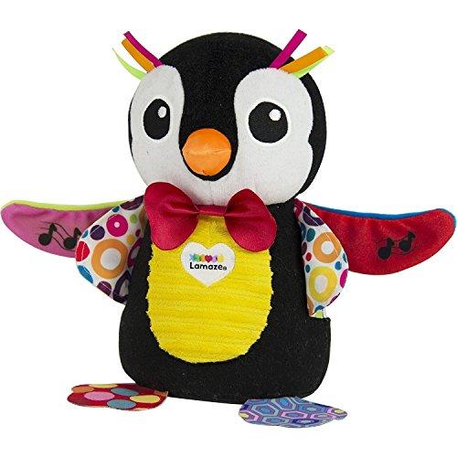 Lamaze Spielzeug | Musikalischer Pinguin - fördert Tastsinn und Hörvermögen ihres Kindes | Babyspielzeug mit Sound | Lernspielzeug - ideal als Geschenk für Kinder ab 6 Monate