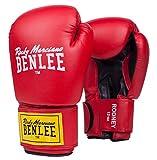 BENLEE Rocky Marciano Boxhandschuhe Pu Training Gloves Rodney, Rot/Schwarz, 12