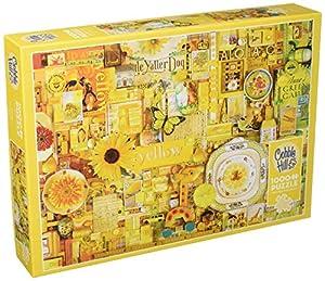 Cobblehill 80148 - Puzzle (1000 Piezas), Color Amarillo