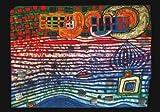3er-Packung: Kunstkarte HundertwasserWellenlänge