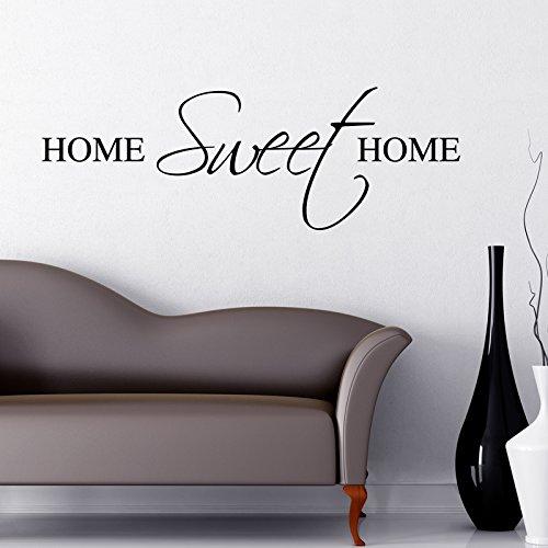 HOME SWEET HOME WALL STICKER... Words/QuotesStickers muraux / stickers muraux de mur / transferts / stickers muraux