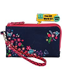 Pinaken Walking Purse Bag Organizer Pouch Travel Small And Large Holder Bag Makeup Kit Case Toiletry Bag Multi-Function...