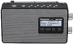 Panasonic Rf-d10eg-k Digitalradio (Dab+ukw Tuner, Netz- Und Batteriebetrieb) Schwarz