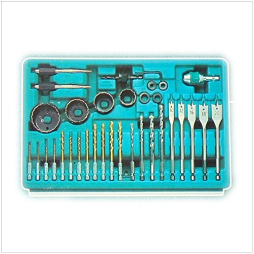 Makita 3-Fach-Schubladenkoffer inkl. 126-teiliger Werkzeug Set für 6260, 6261, 6270, 6271, 6280, 6281, 8270, 8271, 8280, 8281 DWAETC - 3