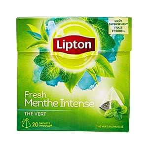 Lipton Thé Vert Menthe Intense 60 Sachets