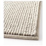 IKEA TOFTBO Microfiber Bath Mat - 35 x 24 | 1.25 Thick - Ultra Soft Super Absorbent Fast Dry (1, Beige) by Toftbo