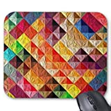 Best iXCC gaming mousepad - Non-Slip Mouse Pad Orange Quilty Mouse Pad Gaming Review