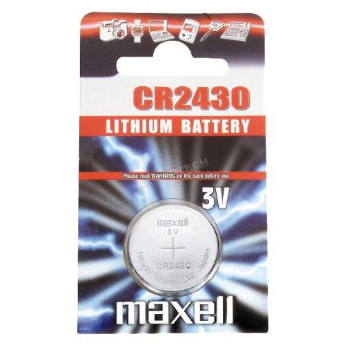 Pile bouton au lithium 3v CR2430