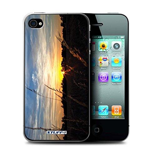 STUFF4 Phone Case / Cover for iPhone 6+/Plus 5.5 / Treeline Design / Sunset Scenery Collection Treeline