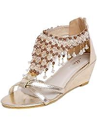 Amazon.it  Qitun - Scarpe da donna   Scarpe  Scarpe e borse cbae25ea0f1
