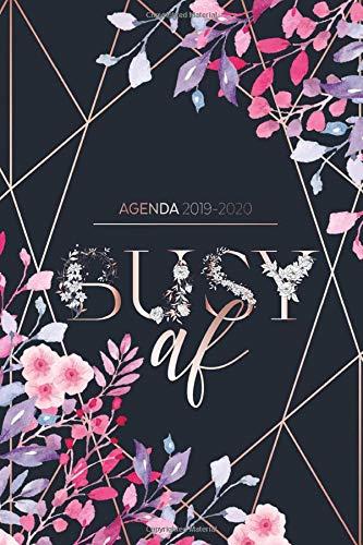 Agenda 2019 - 2020: Busy AF - Agenda Giornaliera Agosto 2019 a Dicembre 2020 - Agenda Settimanale 2019 - 2020 | Journalier, Agende, Office e ... | Pianifica i tuoi appuntamenti quotidiani