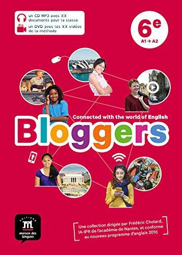 Bloggers 6e (A1-A2) - Pack CD MP3 + DVD vidéo d'anglais