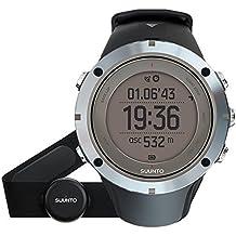 Suunto AMBIT3 PEAK HR - Reloj GPS unisex multisports/de exterior, 30 h de duración de la batería, monitor frecuencia cardiaca + cinturón de frecuencia cardiaca (talla: M), sumergible hasta 100 m, color