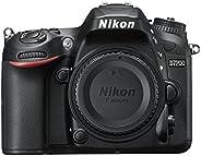 Nikon D7200 Fotocamera Reflex Digitale, 24,72 Megapixel, Wi-Fi Incorporato, NFC, Nero [Versione EU] (Ricondizi