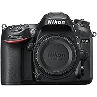 Nikon D7200 Fotocamera Reflex Digitale, 24,72 Megapixel, Wi-Fi Incorporato, NFC, Nero [Versione EU] (Ricondizionato Certificato)