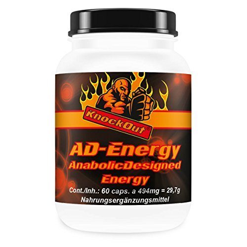 US Premium Maca Andina by KnockOut-Nutrition - Anabolic-Designed-Energy - 180 Kapseln geschmacksneutral (Bcaa Pulver Stack)