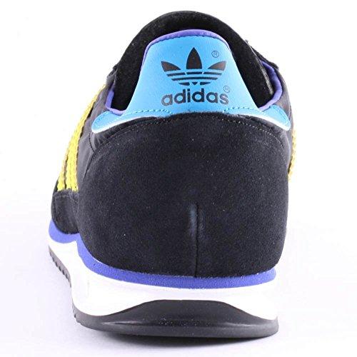 adidas Originals SL 72 Unisex-Erwachsene Sneakers Black Lime