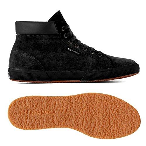 Superga 2204-Suem, Sneaker, Uomo FULL BLACK