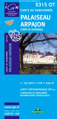 Palaiseau Arpajon Fort De Verrires Gps par IGN