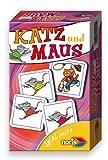 Noris Spiel 606094215 - Katz und Maus, Reise- und Mitbringspiel