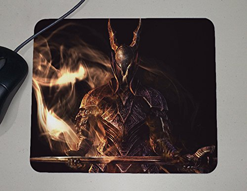 Dark Souls - PC Console Video Games - Geek Gifts - Custom Name Mouse - Souls Works Dark Design