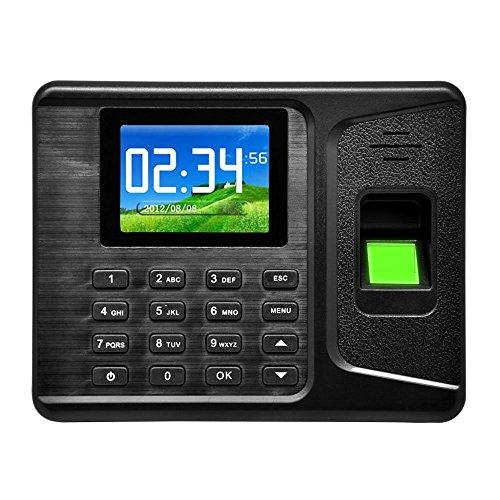 2,8' TFT Orologio Marcatempo Verifica presenze Lettore Impronte Digitali Registratore Biometrico
