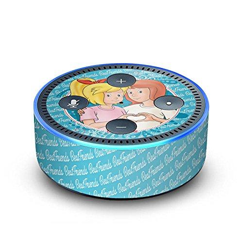 amazon Echo Dot 2.Generation Folie Skin Sticker aus Vinyl-Folie Bibi und Tina Fanartikel Merchandise Maedchen